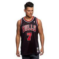 Mitchell & Ness Chicago Bulls #7 Toni Kukoc black Swingman Jersey