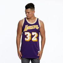 Mitchell & Ness Los Angeles Lakers #32 Magic Johnson purple Swingman Jersey