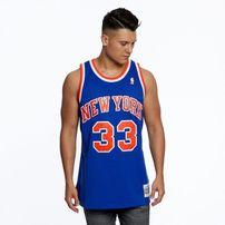 Mitchell & Ness New York Knicks #33 Patrick Ewing royal Swingman Jersey