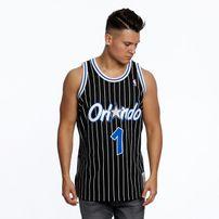 Mitchell & Ness Orlando Magic #1 Anfernee Hardaway black Swingman Jersey