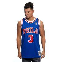 Mitchell & Ness Philadelphia 76ers #3 Allen Iverson royal Swingman Jersey