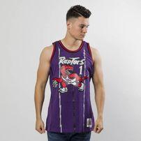 Mitchell & Ness Toronto Raptors #1 Tracy McGrady purple Swingman Jersey