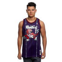 Mitchell & Ness Toronto Raptors #15 Vince Carter purple Swingman Jersey