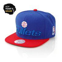 Mitchell & Ness XL Logo Washington Bullets 2 Tone Snapback