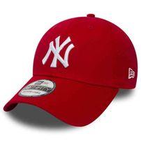 Sapka New Era 9Forty MLB League Basic NY Yankees Scarlet White
