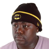New Era Pop Cuff Knit Batman Official Cap