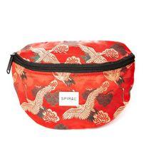 Övtáska Spiral Paradise Birds Bum Bag Red