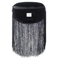 Övtáska Spiral Velvet Tassels Black BL Label Bum Bag