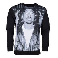 Thug Life 2-Pac Sweatshirt Black