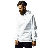 Urban Classics Neopren Side Zipped Hoody White
